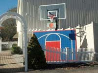 Basketball Courts of Massachusetts is game for basketball or tennis in Massachusetts towns like Wrentham, Westwood and Canton.