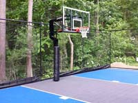 Basketball court in West Bridgewater, MA, but you could have it in Rehoboth, Dighton, Somerset, Westport or Swansea too.