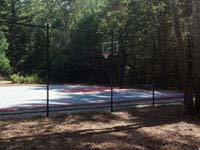 Parsonage Road town basketball court restored and opened to public in Plympton, MA